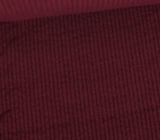 Cord - Breitcord - Washed-Look - Uni - 325g - Bordeaux