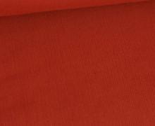 Babycord - Feincord - Washed-Look - Uni - 160g - Rostorange
