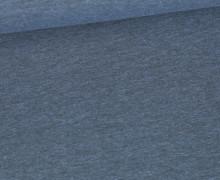Jersey - Dunkel Meliert  - 150cm - Taubenblau