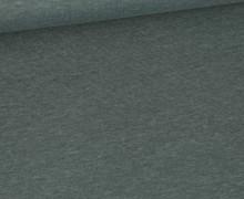 Jersey - Dunkel Meliert  - 150cm - Graugrün