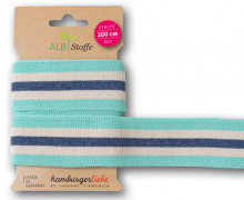Streifenband - Stripe Me - College - 3 Stripes - Orient Oxident - Multi - Hamburger Liebe - Mint