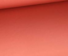 Sommersweat - French Terry - Paneel - Farbverlauf - Orangerot