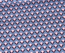 Baumwolle - Webware - Sense Of Harmony - Taubenblau - Modern Pattern - Gütermann