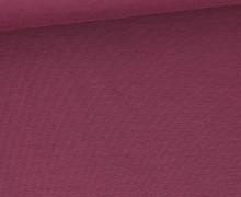 Bambus-Jersey – Uni  – Altbeere