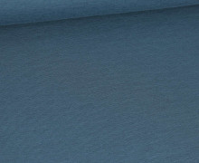 Bambus-Jersey - Uni  - Jeansblau