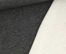 Teddysweat - Meliert -  Schwarz
