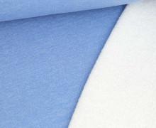 Teddysweat - Meliert -  Hellblau