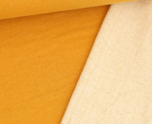 Kuschelsweat - Melange - 370g - Maisgelb