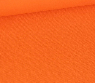 Canvas Stoff - feste Baumwolle - 265g - Uni - Orange