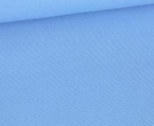 Canvas Stoff - feste Baumwolle - 265g - Uni - Hellblau