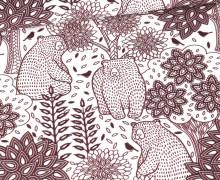 Sommersweat - Herbstspaziergang - Weiß - Bio Qualität - abby and me