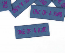 1 Label – ONE OF A KIND – Jeansblau
