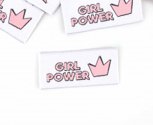 1 XL Label – GIRL POWER – Weiß