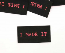 1 XL Label - I MADE IT - Schwarz