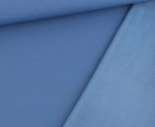 Softshell - Fleece - Uni - Taubenblau/Taubenblau