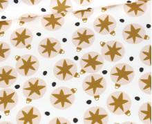 Sommersweat - Swinging Ornaments - Weihnachten - Weiß - Bio Qualität - abby and me