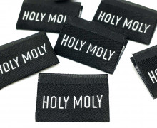 1 Label - HOLY MOLY - Schwarz