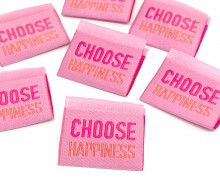 1 Label - Choose Happiness - Rosa