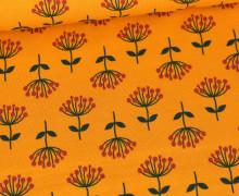 Jersey - Floral Design Love - Gelborange