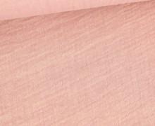 Musselin - Muslin - Meliert - Double Gauze - Altrosa