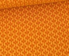 Bio-Elastic Minijacquard Jersey - 3D - Cottage Knit - Sweet Home - Hamburger Liebe - Maisgelb
