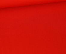 Baumwolle - Webware - Uni - 145cm - Orangerot