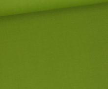 Baumwolle - Webware - Uni - 145cm - Maigrün