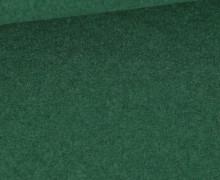 Wolle - Walkstoff - Grasgrün