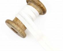 1 Bund Schrägband – 3 Meter – Zugeschnitten – Baumwolle – 20mm – Warmweiß