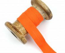1 Bund Schrägband – 3 Meter – Zugeschnitten – Baumwolle – 20mm – Orange
