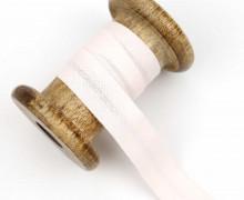 1 Bund Schrägband – 3 Meter – Zugeschnitten – Baumwolle – 20mm – Blassrosa