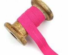 1 Bund Schrägband – 3 Meter – Zugeschnitten – Baumwolle – 20mm – Pink