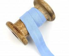 1 Bund Schrägband – 3 Meter – Zugeschnitten – Baumwolle – 20mm – Himmelblau