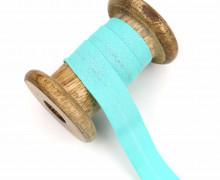 1 Bund Schrägband - 3 Meter - Zugeschnitten - Baumwolle - 20mm - Mintgrün