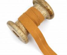1 Bund Schrägband – 3 Meter – Zugeschnitten – Baumwolle – 20mm – Lehmbraun