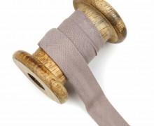 1 Bund Schrägband - 3 Meter - Zugeschnitten - Baumwolle - 20mm - Taupe
