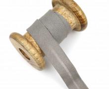 1 Bund Schrägband – 3 Meter – Zugeschnitten – Baumwolle – 20mm – Beigegrau