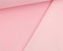 Kuschelsweat Light - Uni - Babyrosa Meliert - Sweat Angeraut