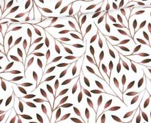 Jersey - Tiny Twigs - Bio-Qualität - Weiß - abby and me