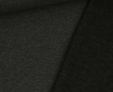 Kuschelsweat Leicht - Uni - 250g - Dunkelgrau Meliert