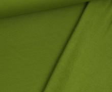 Kuschelsweat Leicht - Uni - 250g - Farngrün