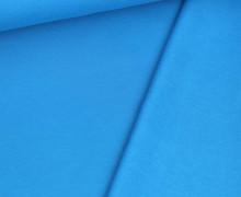 Kuschelsweat Leicht - Uni - 250g - Cyanblau