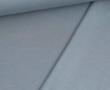 Kuschelsweat Leicht - Uni - 250g - Taubenblau
