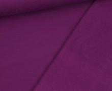 Kuschelsweat Leicht - Uni - 250g - Violett