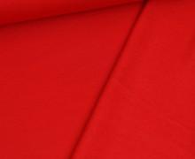 Kuschelsweat Leicht - Uni - 250g - Rot