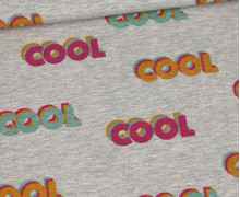 Sommersweat - Cool Cool Cool - Mini - Grau Meliert - abby and me