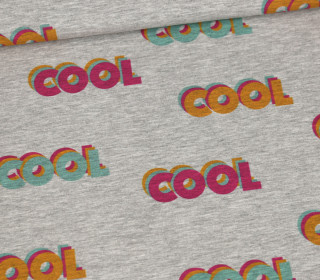 Sommersweat – Cool Cool Cool – Mini – Grau Meliert – abby and me