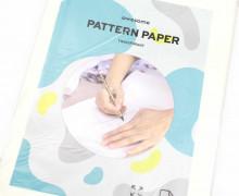 1 Packung Schnittmusterpapier - 5 Blatt - 100x150cm - Transparent
