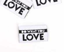1 Label - DO WHAT YOU LOVE - Weiß