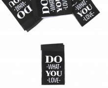1 Label - DO WHAT YOU LOVE - Schwarz
